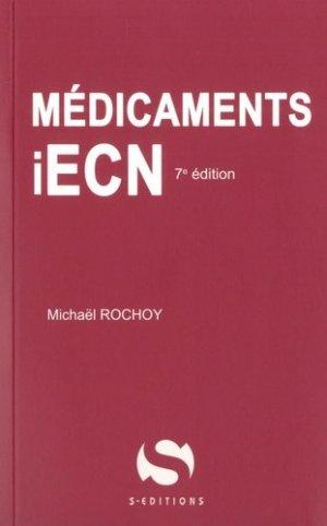 Médicaments iECN - s editions - 9782356401878 -