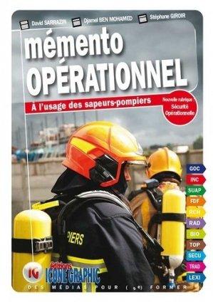 Mémento opérationnel à l'usage des sapeurs-pompiers - icone graphic - 9782357384989 -