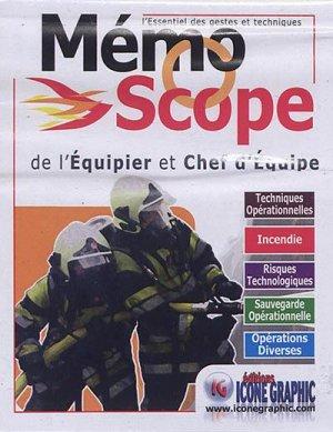 Mémoscope de l'équipier et chef d'équipe - icone graphic - 9782357385221 -