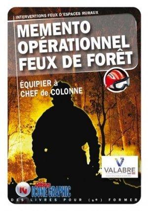 Mémento opérationnel Feux de forêts - icone graphic - 9782357385474 -