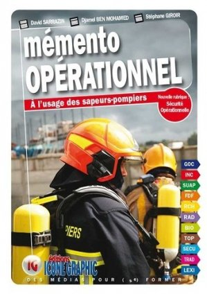 Mémento opérationnel à l'usage des sapeurs-pompiers - Icone graphic - 9782357385658 -