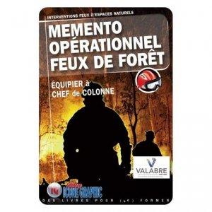Mémento opérationnel Feux de forêts - Interventions feux d'espaces naturels - Icone graphic - 9782357386310 -