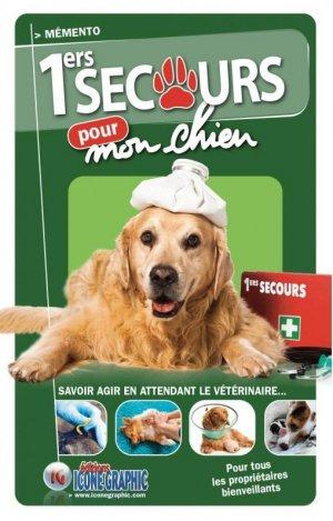 Mémento Premiers secours pour mon chien - Icone graphic - 9782357386396 -