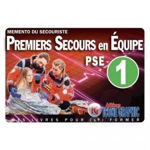 Mémento du secouriste - Icone graphic - 9782357386488 -