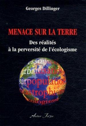 Menace sur la Terre - Atelier Fol'fer - 9782357910287 -