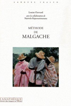 Méthode de Malgache - asiathèque - 9782360570355 -