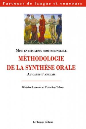 Méthodologie de la synthèse orale au CAPES d'anglais - le temps - 9782363120557 -