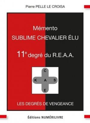 Mémento 11e degré R.E.A.A - Numérilivre - 9782366321128 -