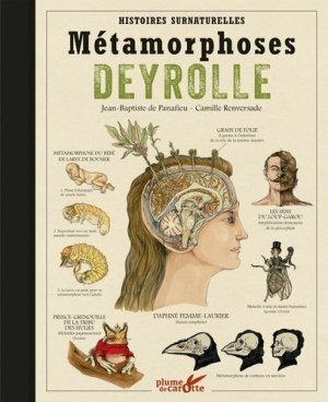 Metamorphoses Deyrolle - plume de carotte - 9782366721041 -