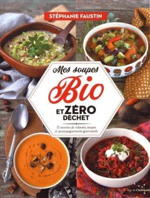 Mes soupes bio et zéro déchet - rue de l'échiquier - 9782374251899 -