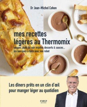 Mes recettes légères au Thermomix - first editions - 9782412046227 -