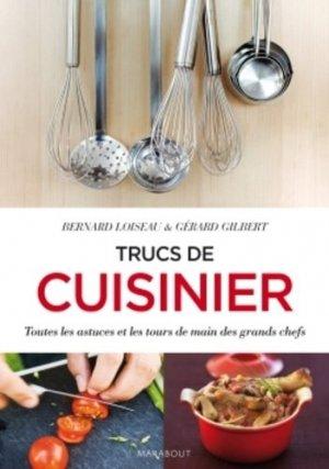 Mes trucs de cuisinier - Marabout - 9782501093897 -