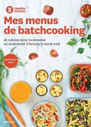 Mes menus de batchcooking - marabout - 9782501138901 -