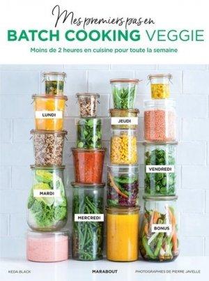 Mes premiers pas en batch cooking veggie - Marabout - 9782501139281 -