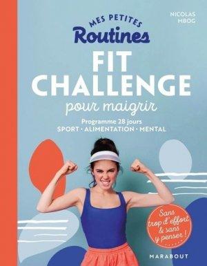 Mes petites routines - Fit Challenge pour maigrir - marabout - 9782501148221 -