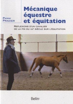 Mécanique équestre et équitation - belin - 9782701152493 -