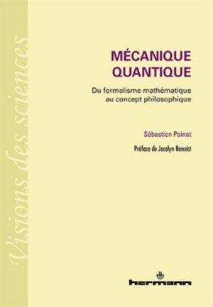 Mécanique quantique - hermann - 9782705688639 -