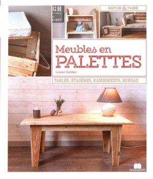 Meubles en palettes - massin - 9782707210388 -