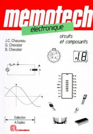 Mémotech électronique Circuits et composants - casteilla - 9782713517556 -