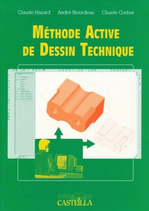 Méthode active de dessin technique - casteilla - 9782713523991 -