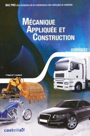 Mécanique appliquée et construction - casteilla - 9782713533822 -