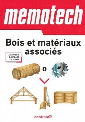 Mémotech Bois et matériaux associés - casteilla - 9782713534461