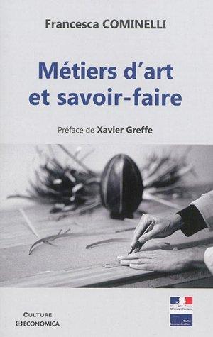 Métiers d'art et savoir-faire - economica anthropos - 9782717868500 -