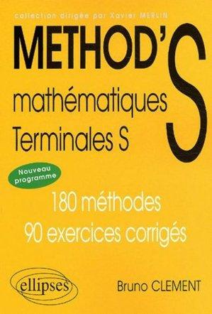 Mathématiques Terminale S. - ellipses - 9782729812362 -