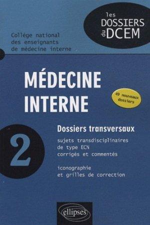 Médecine interne 2 - ellipses - 9782729857370