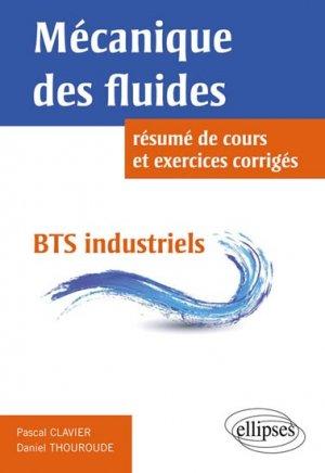 Mécanique des fluides - ellipses - 9782729880156 -