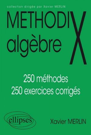 Methodix algèbre - ellipses - 9782729895556 -