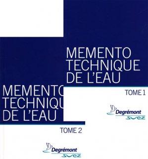 Mémento technique de l'eauTome 1 - Tome 2 - degremont suez - 9782743007171 -