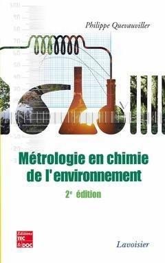 Métrologie en chimie de l'environnement - lavoisier / tec et doc - 9782743008376 -