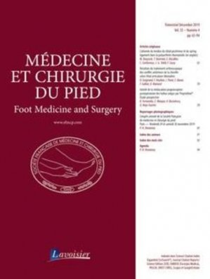 Médecine et chirurgie du pied Volume 35 N° 4, décembre 2019 - lavoisier - tec et doc editions - 9782743025472 -
