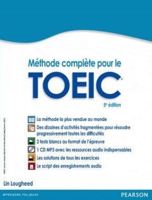 Méthode complète pour le TOEIC - Pearson - 9782744075995 -