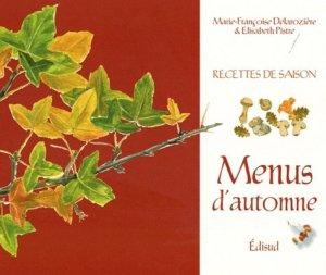 Menus d'automne - Edisud - 9782744908859 -
