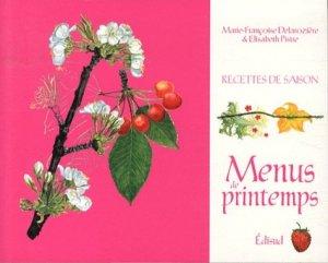 Menus de printemps - Edisud - 9782744909030 -