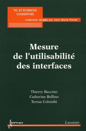 Mesure de l'utilisabilité des interfaces - Hermes Science Publications - 9782746210264 -