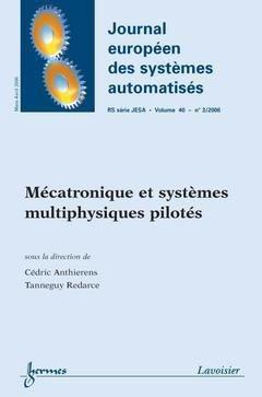 Mécatronique et systèmes multiphysiques - hermès / lavoisier - 9782746215269 -