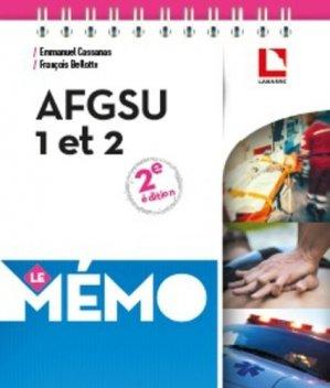 Mémo AFGSU  1 et 2 - éditions lamarre / arnette - 9782757310038 -