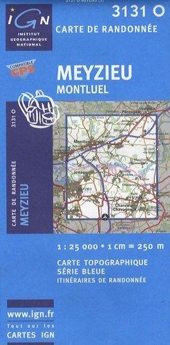 Meyzieu - Montluel - ign - 9782758507420 -