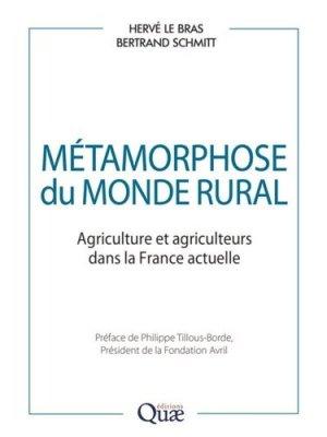 Métamorphose du monde rural - quae - 9782759231263 -
