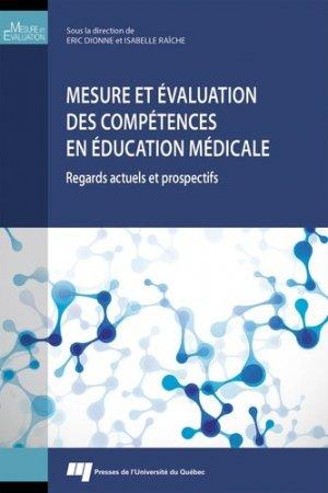 Mesure et évaluation des compétences  en éducation médicale - presses de l'universite du quebec - 9782760547964 -