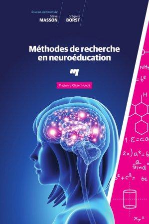 Méthodes de recherche en neuroeducation - presses de l'universite du quebec - 9782760548466 -