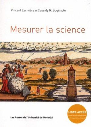 Mesurer la science - presses de l'universite de montréal - 9782760639515 -