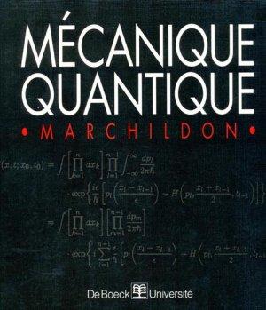 Mécanique quantique - de boeck superieur - 9782804133153 -