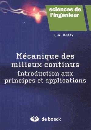 Mécanique des milieux continus - de boeck superieur - 9782804175559 -