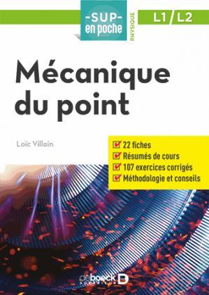 Mécanique du point - de boeck superieur - 9782807307667 -