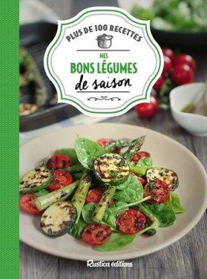 Mes bons légumes de saison - rustica - 9782815311199 -