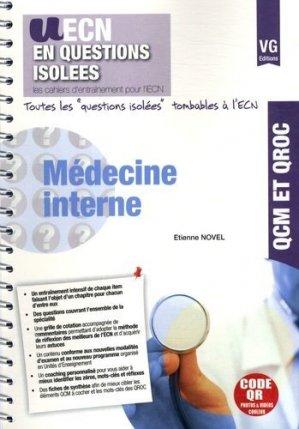 Médecine interne - vernazobres grego - 9782818312513 -